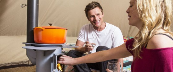 What to cook on your tent stove
